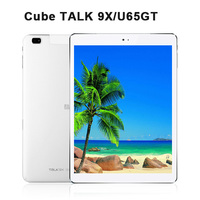 "9.7"" IPS Cube Talk 9X U65GT MT8392 Octa Core Android 4.4 WCDMA 3G phone call Cameras BT GPS WIFI tablet pc"