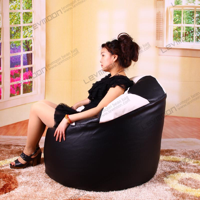 FREE SHIPPING custom bean bag covers  without filling bean bag chair covers  80*70*40cm  beanbags PU  LEATHER bean bag chair<br><br>Aliexpress