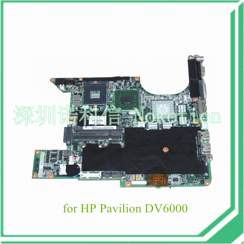 434723-001 434725-001 for HP Pavilion DV6000 15.4'' laptop motherboard 945GM DDR2 Without nvidia overheat problem(China (Mainland))