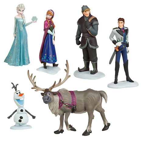 Гаджет  Hot Sell Kawaii Gifts action toy figures 6 pcs/sets Elsa and anna PVC Frozenly toys Anime Generation Model Toy Collection Gift None Игрушки и Хобби