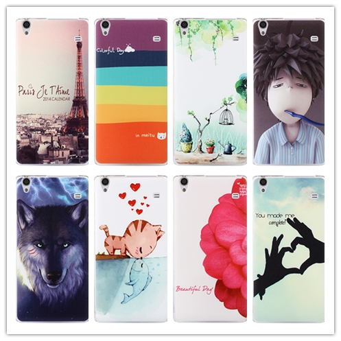 20 pattern, tower hard painting cute lenovo A936 cover case lenovo Note 8 A936 note8 phone case(China (Mainland))