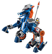 LEPIN Nexo Knights Axl Lance's Mecha Horse Combination Marvel Building Blocks Kits Toys Minifigures Compatible Legoe Nexus - CyunSing Trading store