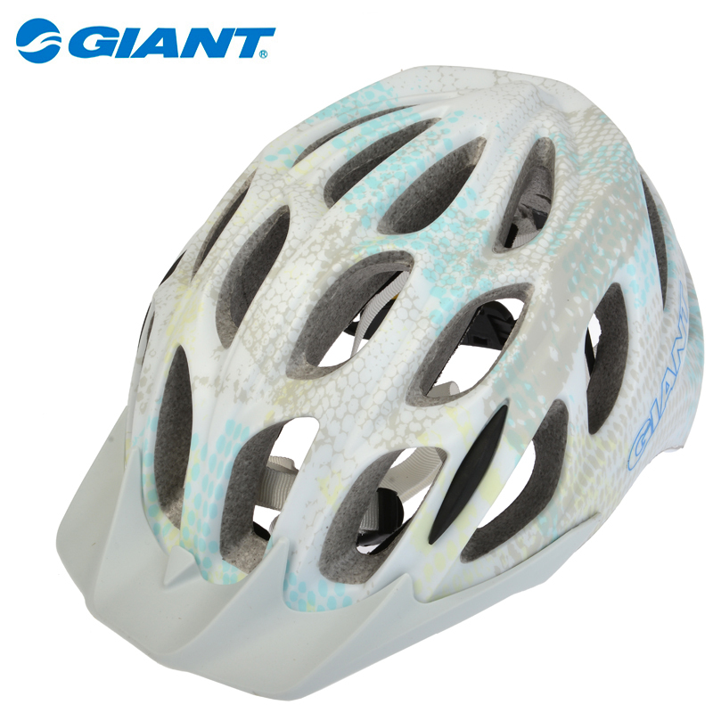 2014 New GIANT Ultralight Outdoor Sports 25 Wind Vents In-Mold Cycling MTB Road Bike Bicycle Cycling Visor Safely Helmet 4Colors(China (Mainland))