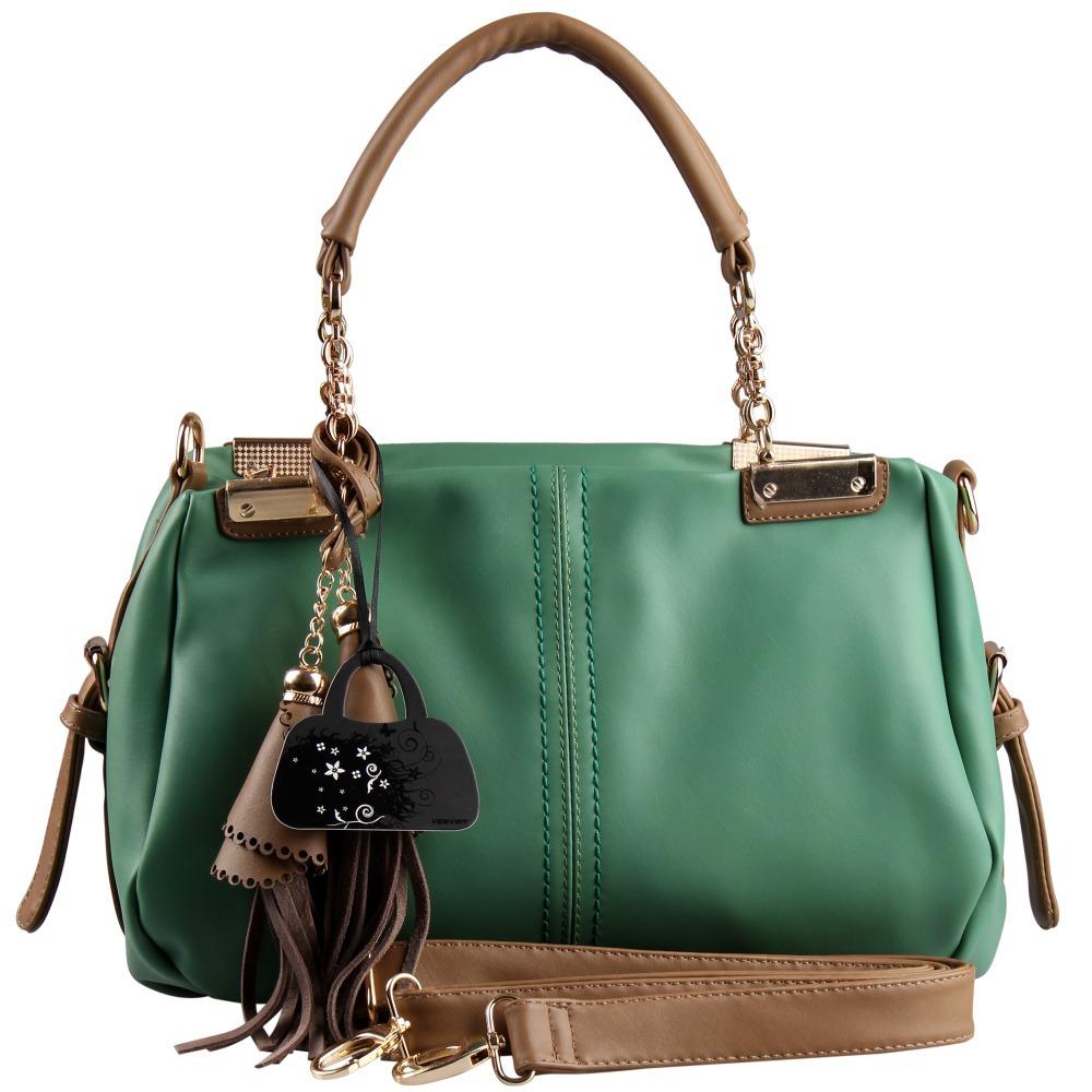 2016 Famous Designer Brand Women Handbag Tassel Leather Ladies Tote Handbags Fashion Women Messenger Bags Single Shoulder Bag(China (Mainland))