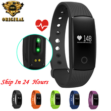 Original ID107 Bluetooth Smart Bracelet Smart Band Heart Rate Monitor Wristband Fitness Tracker Remote Camera For Android iOS