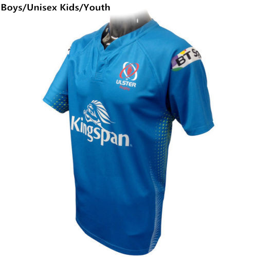 New 2016 Child Ulster Rugby Jersey Boys Away Rugby Shirt Original Jerseys Blue(China (Mainland))