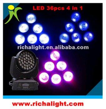 36pcs led moving head rgbw wash light (RL-MH36)