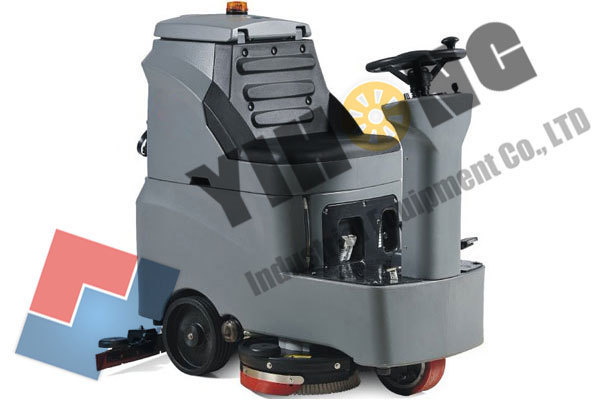 Mini Ride On Automatic Floor Scrubber YHFS-700RM