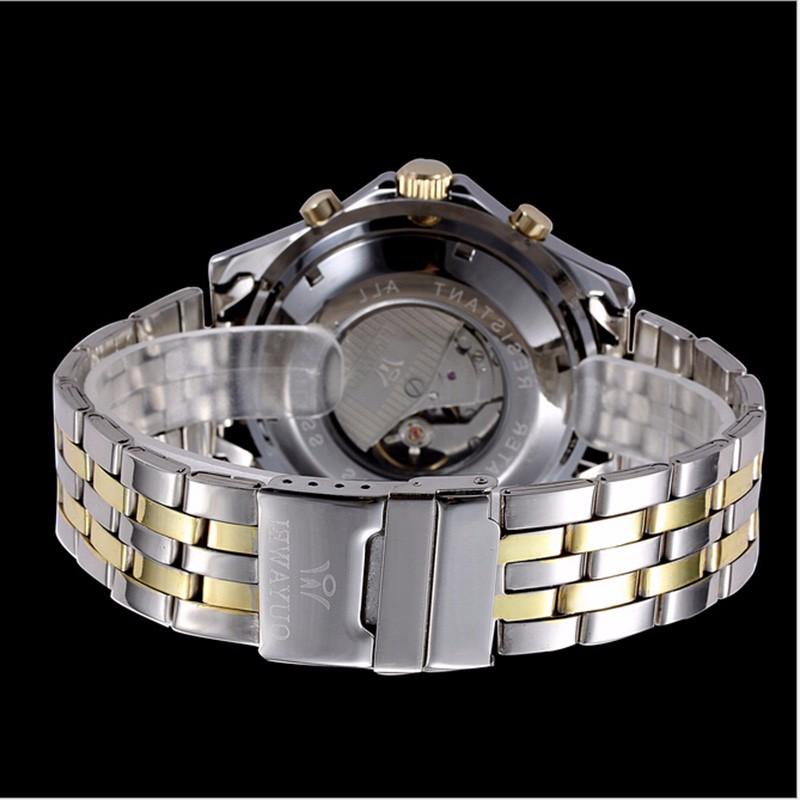 2016 OUYAWEI мужские часы лучший бренд класса люкс автоматические механические часы известный бизнес стиль нержавеющей стали марки reloj hombre