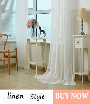 Solid White Tulle Window Curtains for Bedroom Curtain for Living Room Rose Jacquard Sheer Small Kitchen Curtains Drapes 1 PC