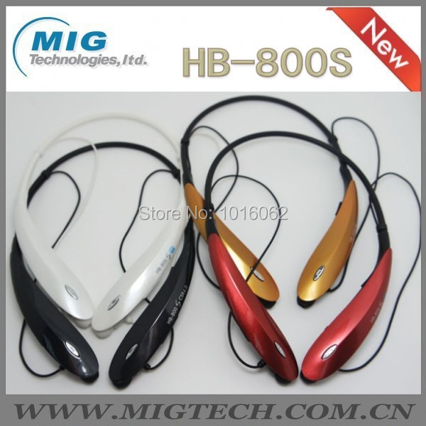 50pc/lot HandsFree bluetooth stereo headset headphone HB-800S, CSR4.0 wireless Earphone 5 color stock - MIG Technology store