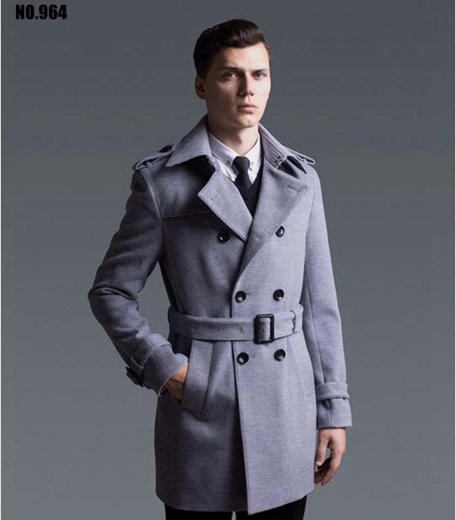 European and American fashion men's winter hot style ...