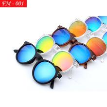 New Sunglasses Women Brand Designer Vintage Round sun glasses  round frame glasses Oculos De Sol Feminino(China (Mainland))