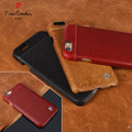 Pierre Cardin Genuine Leather Hard Back Case Cover For iPhone 6 6s 6 6s PLus Phone