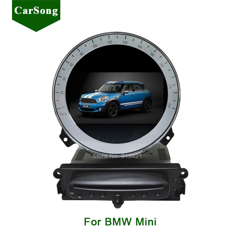 7 inch car dvd player gps navigation for bmw mini cooper. Black Bedroom Furniture Sets. Home Design Ideas