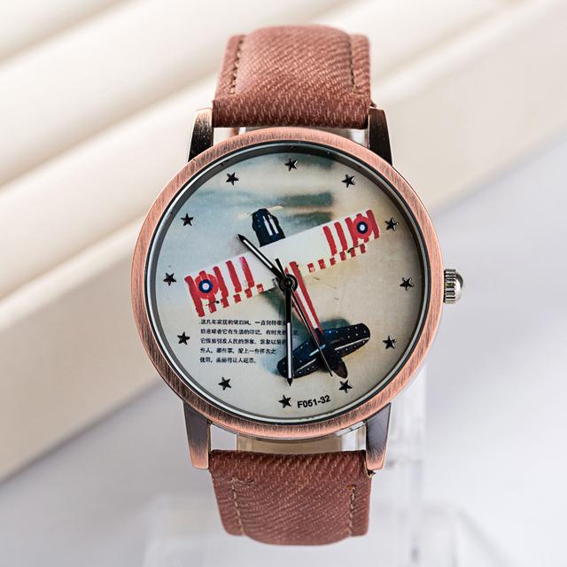 Zegarek damski FEIFAN jeansowa opaska retro styl różne wzory
