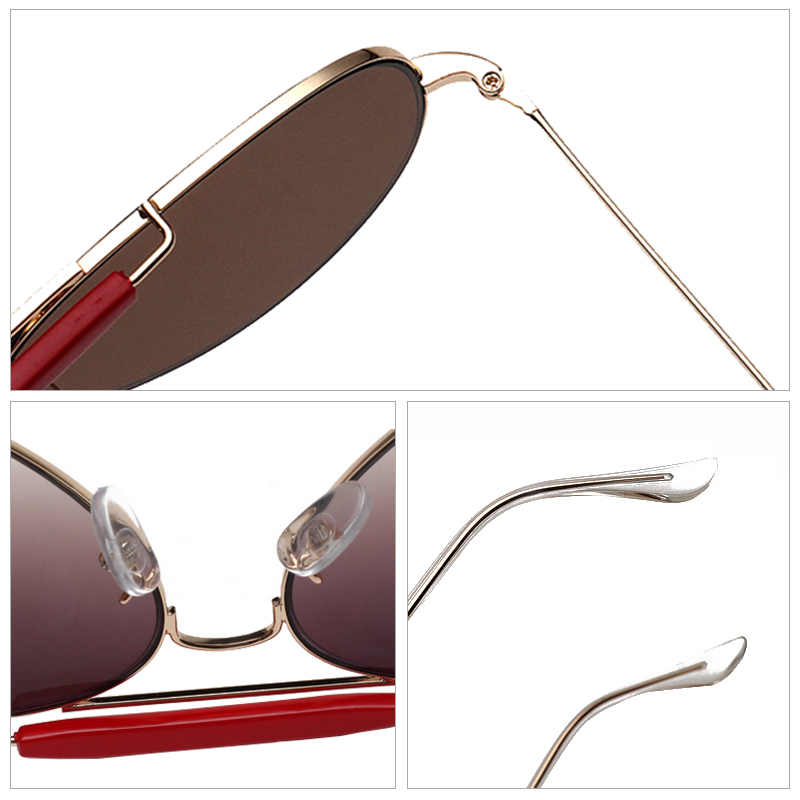2015 Aviator Sunglasses Women Pilot UV400 Points sun glass Female shades fashion driving eyewear Unisex illesteva