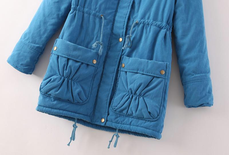 Скидки на Casaco 2016 Новые Зимняя Куртка Женщин Плюс Размер Свободные Большой Pocket Шерсти Ягненка Пальто Повседневная Мода Бренд Одежды Дамы Зимой пальто