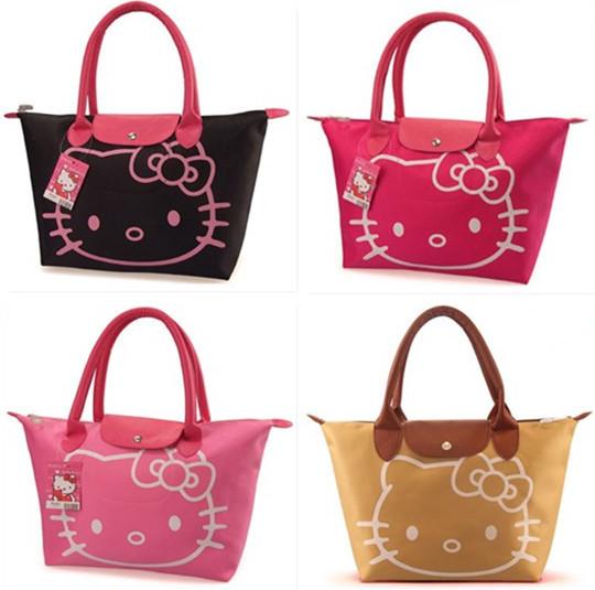 5 colors Waterproof cotton New Arrival Hello Kitty Bag /Shopping Bag/Hand Bag(China (Mainland))