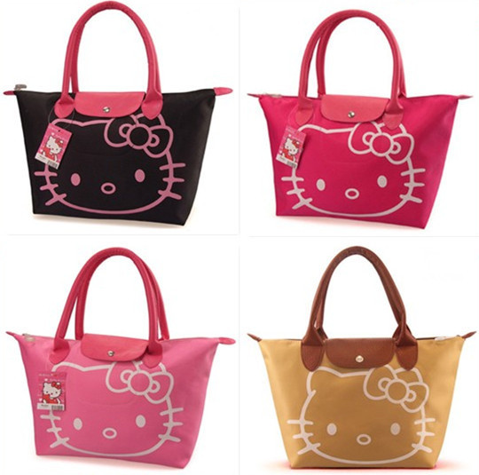 5 colors Waterproof cotton New Arrival Hello Kitty Bag /Shopping Bag/Hand Bag(China (Mainland))