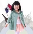 2015 children outerwear topolino ruffle collar lace meninos children jackets casaco infantil menina girls jacket baby girl coat(China (Mainland))