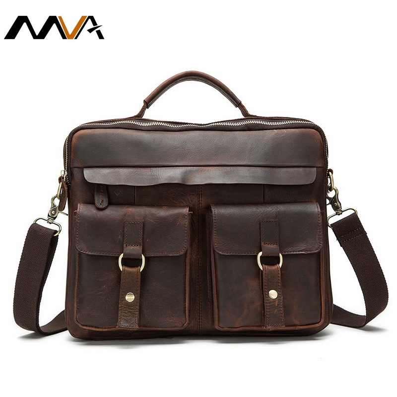 Genuine Leather Men Bag Casual Handbags Messenger Men Crossbody Bag Men'sTravel Bags Tote Laptop Briefcase Bags for Man 2016 NEW(China (Mainland))