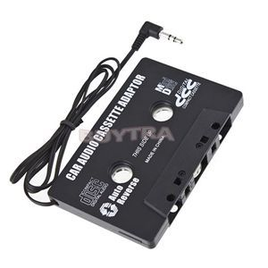 Hot Sale Car Cassette Tape Adapter FOR MP3 CD MD DVD For Clear Sound Music drop shipping(China (Mainland))