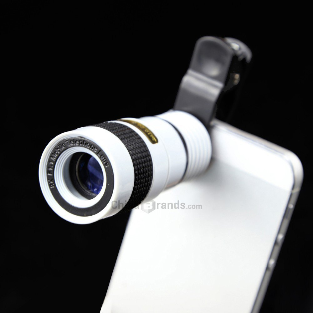 LIEQI LQ - 007 8X Zoom Mobile Phone Telescope Lens for Samsung Galaxy S6 htc iPhone iPad Nokia HTC Notebook PC etc.(China (Mainland))