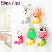 5Pcs Baby Care Grooming & Healthcare Kits Cute Cartoon Sucker Suction Hooks Set Hanging Baby Toothbrush Holder Towels Etc.(China (Mainland))
