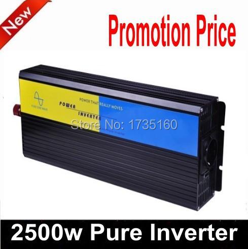 2500W de onda senoidal pura Inversor 24v 2500w converter 24v 2500w pure sine wave inverter with  24v solar inverter<br><br>Aliexpress
