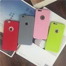 Candy 4 Colors Ultra Slim Solid Rubber Case For iphone 6 6s/6plus 6s plus Silicon Soft Back Cover Mobile Phone Bag Capa Para