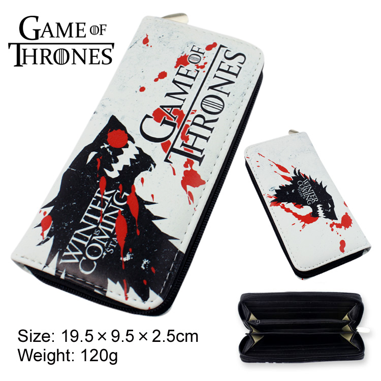 Game of Thrones, a song of ice and fire power game around the Stark family Langtou Wallet