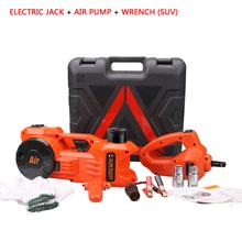 12 В двойная функция электрический гидравлический домкрат , установленные с насосом и электрический ключ присутствует 17 / 19 мм 21 / 23 мм для 3 т внедорожник CE EMC UL