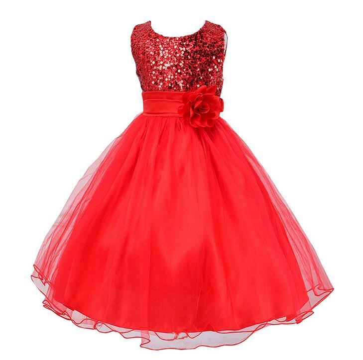 Hot! Dress Baby Girls Lace Elegant Clothes,Kids Wedding Flowers Girls Princess Vestido,Girls Bridal Tulle Formal Party Dress(China (Mainland))