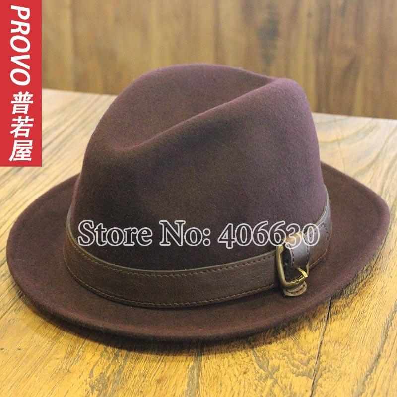 winter wool felt fedora hats for men, chapeu fedora hats, panama, dress mens jazz hats, free shipping(China (Mainland))