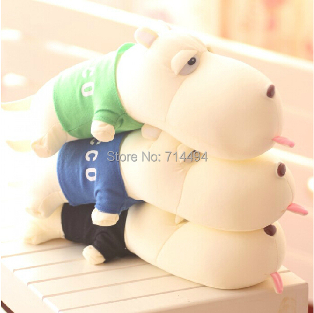 7 Colors Bamboo Charcoal Dog Stuffed Animals Foamed Particle Plush Dolls Car Decoration&Remove The Odor Super Gifts Free(China (Mainland))