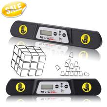 QJ V3 Speed Time Machine Magic Cube 2x2x2 3x3x3 4x4x4 Megaminx Competition Timer (New Edition)(China (Mainland))