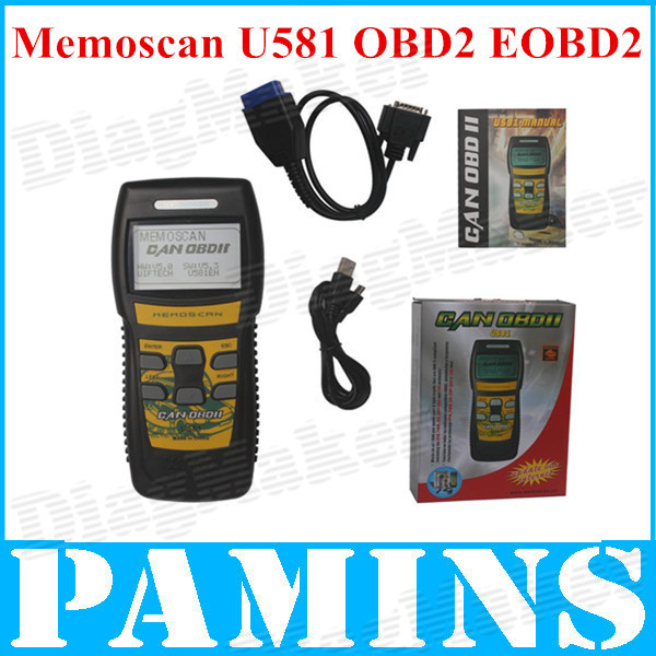 2014 Universal Memoscan U581 Code Readers Scan Tools Automotive Obd2 Scanner Car Obd 2 II Can Bus Obdii Professional Auto Scaner(China (Mainland))