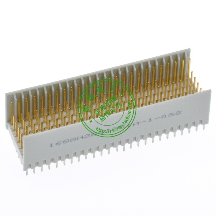 C-PCI connector 5 * 25 + 2 * 25 125P + 50P shield 180 degrees male end 2.0 CPCI connector<br><br>Aliexpress