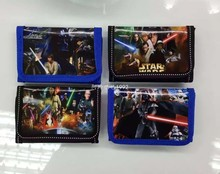 12Pcs Star Wars Darth Vader Storm Trooper Yoda Coin Purse Kids Cartoon Wallet Bag Pouch Children
