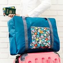 Travel Season New Fashion Women And Men Travel Bag Large Capacity Folding Waterproof zipper Travel Bag Luggage Travel Handbags