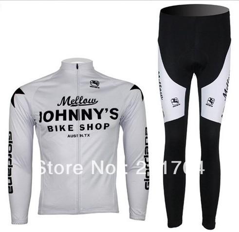 2013 Johnnys Long Sleeve Cycling Jerseys & Pants Cycling Clothes Autumn & Spring Seasons(China (Mainland))