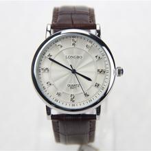 Relojes hombres marca de lujo, moda relojes de ocio, noble, delicado y brillante moire patrones, cuero, alta calidad relojes