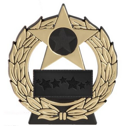 Factory Wholesale cheap STAR PLAQUE TROPHY MEDALS AWARD SCHOOL Free Shipping FH810113(China (Mainland))
