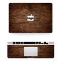 New Laptop Skins for Macbook Sticker Top Side Keyboard Rest Wrist Pad Vinyl Decal Wood Texture