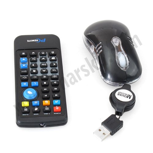 10x2 In 1 3D Optical Mouse +PC Remote Controller #1385<br><br>Aliexpress