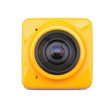 Cube 360 Video Camera 360 Degree Panoramic Sport Action Camera Wifi Mini DV Camcorder Outdoor Wide-Angle Panorama Camera