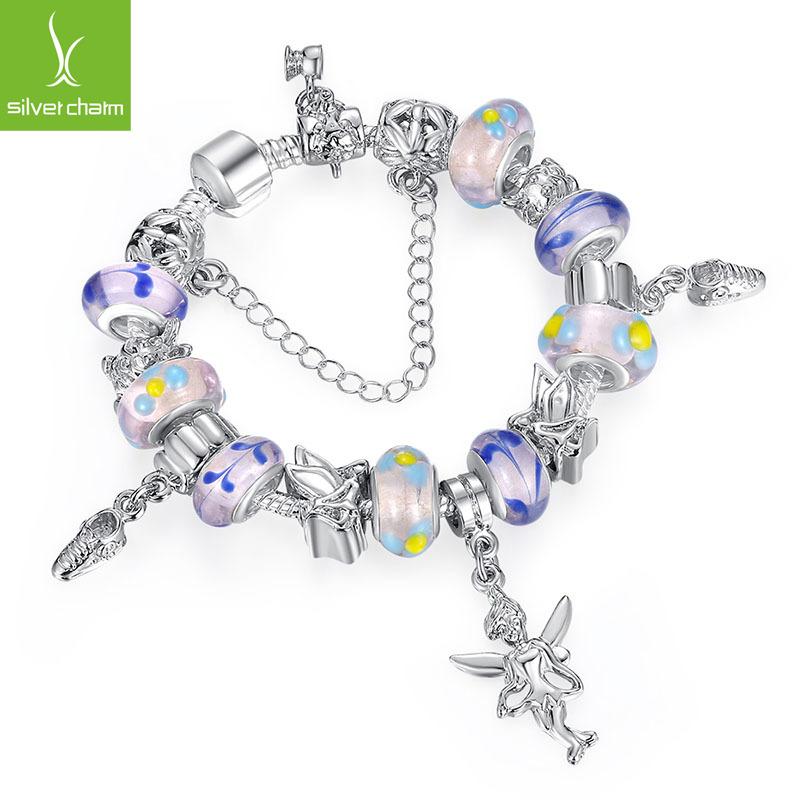 Aliexpress Wholesale  DIY Charm Fit Original pandora Bracelet for Women 925 Silver Chain Beads Jewelry Allergy Free Gfit XCH1178<br><br>Aliexpress