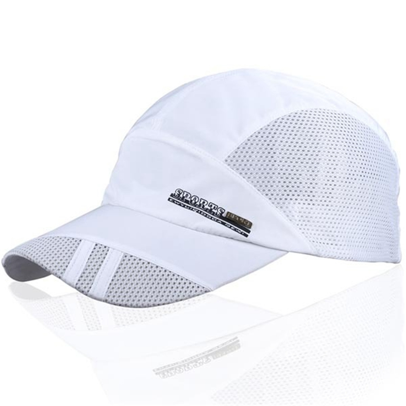 Outdoor Sport Caps Mesh Breathable Man Baseball Golf Cap Summer Adjustable Sun Hat Sports Running Caps for Men Women Logo Random(China (Mainland))