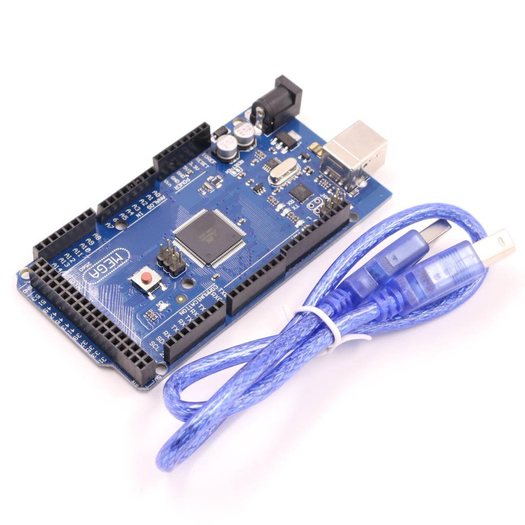 Mega 2560 R3 Mega2560 REV3 ATmega2560-16AU Board + USB Cable compatible for arduino(China (Mainland))